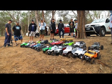 23 Rc cars Rock crawler 4x4 Team challenge 2016  Offroad trip Hilux Jeep SCX10 Tamiya