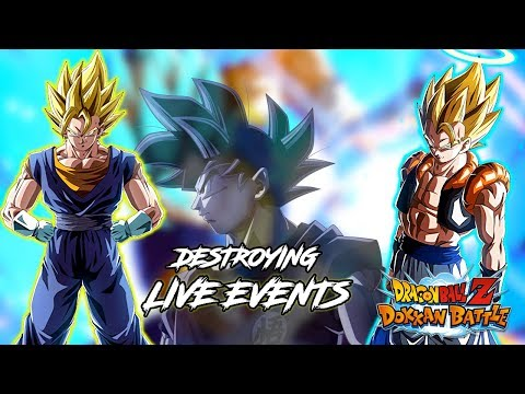 DESTROYING EVENTS LIVE! WILL PART 2 CELEBRATION BE ANNOUNCED TONIGHT!?   DRAGON BALL Z DOKKAN BATTLE