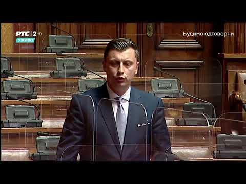 Obraćanje u Skupštini 05. 05. 2021. g. – Narodni poslanik SPP-a Samir Tandir