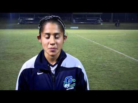 Bocbat Soccer Postgame - Karen Bonilla 10-26-11