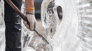 Video How To Make an Ice Sculpture MP3, 3GP, MP4, WEBM, AVI, FLV Juni 2018