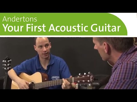 Buying Your First Acoustic Guitar
