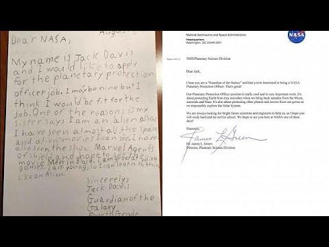 Ο 9χρονος που θέλει να δουλέψει στη NASA