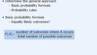 3. GMAT Prep - GMAT Math Lesson - Probability - General Strategies