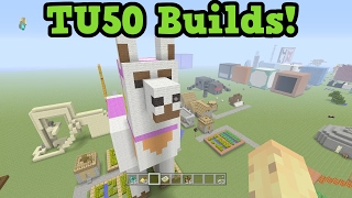 Minecraft Xbox One / PS4 - TU49 / TU50 Themed Builds
