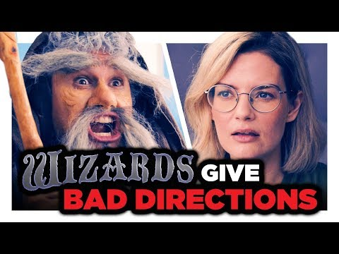 Wizards Give Bad Directions