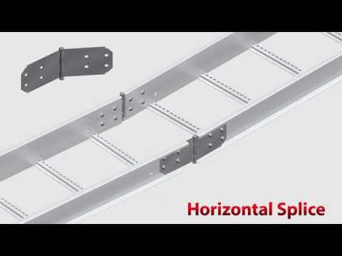 Multiple Methods to Splice your Cable Ladder - EzyStrut