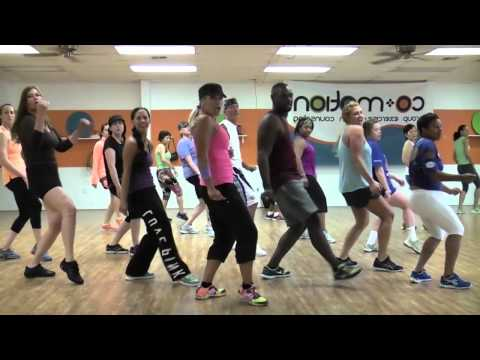"""BLURRED LINES"" by Robin Thicke – Choreography by Lauren Fitz for Dance Fitness"