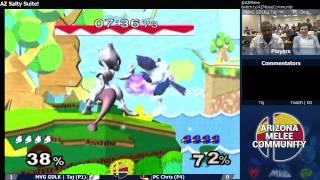 AZ Salty Suite: Taj (Mewtwo/Marth) vs. PC Chris (Falco)