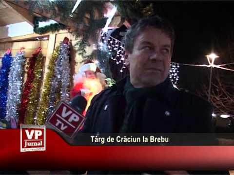 Târg de Crăciun la Brebu