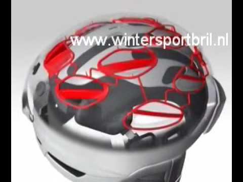 Alpina Super Cybric skihelm