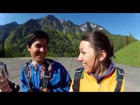 Swiss Ski Ass Wendy Holdener mit Bruder Kevin