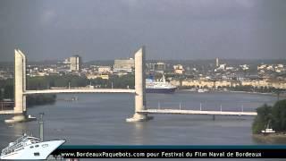 [TIMELAPSE] Pont Chaban-Delmas Bordeaux - Montée et descente du pont levant