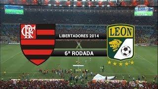 Video Gols - Flamengo 2 x 3 León (MEX) - Libertadores 2014 - 09/04/2014 MP3, 3GP, MP4, WEBM, AVI, FLV Mei 2018