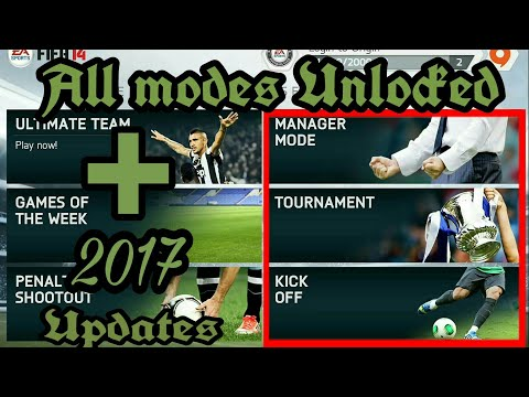 Fifa 14 Android V 1.3.6 Fully Unlocked + 2017 Squad Update/download And Installation