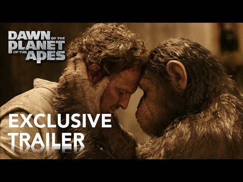 Dawn of the Planet of the Apes   Official Trailer #2 HD   2014