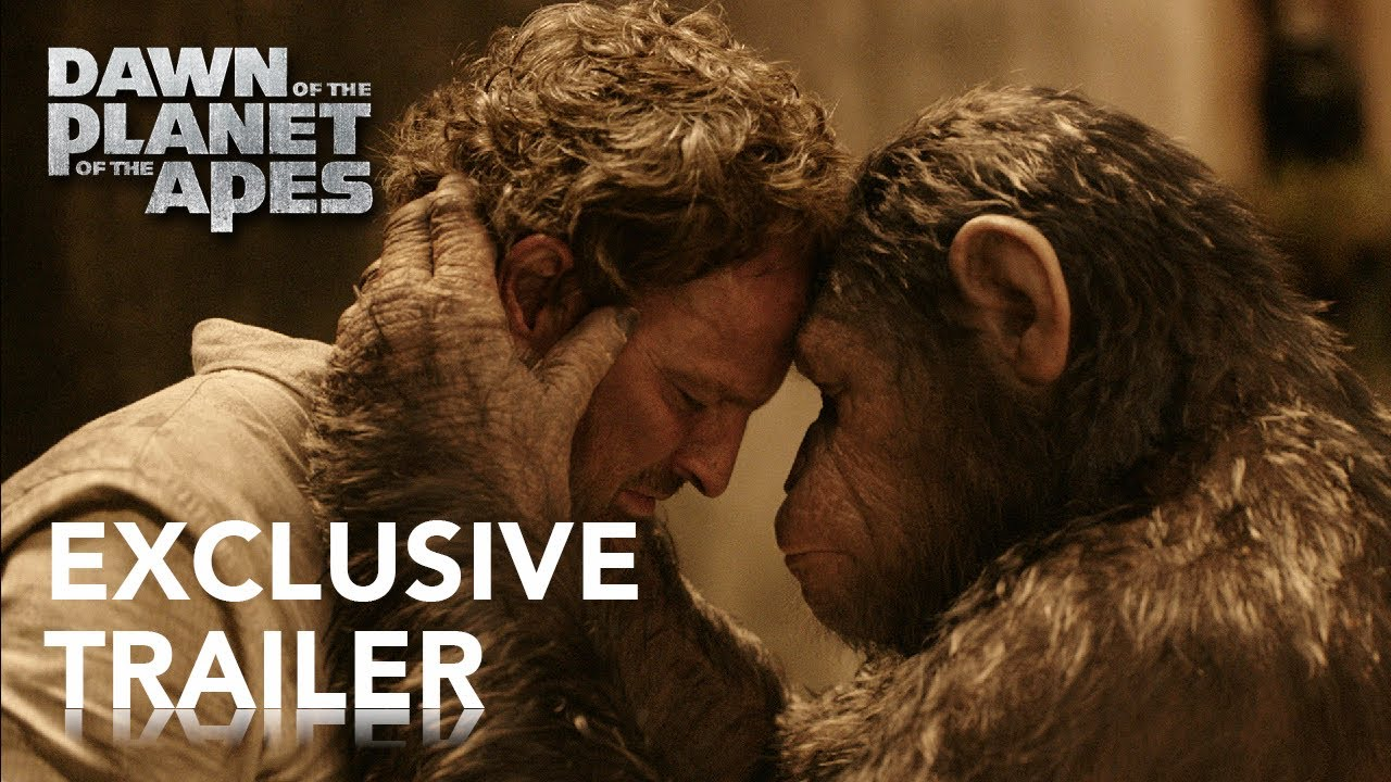 Movie Trailer #2: Dawn of the Planet of the Apes (2014)