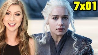 Game of Thrones 7x01 Dragonstone Recap & Review SUBSCRIBE for more Katie Wilson videos! http://bit.ly/subkatie GAME OF...