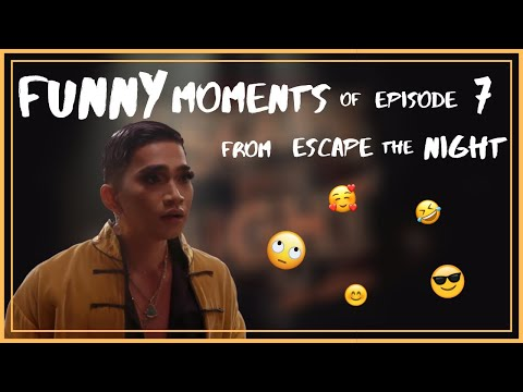 Funny Moments of Escape The Night (Season 4, Episode 7) // Generik