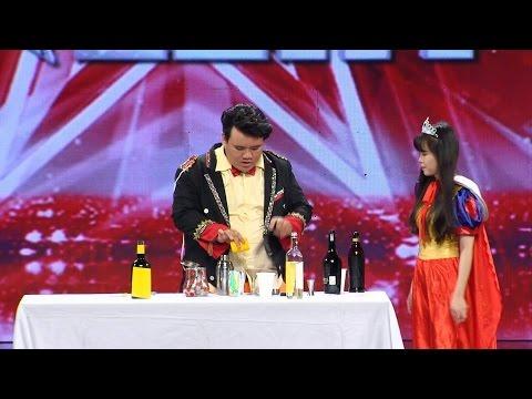 Vietnam's Got Talent 2016 - TẬP 8 - Ảo thuật pha chế - Lưu Đức Duy