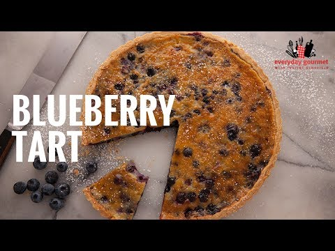 Driscolls Blueberry Tart | Everyday Gourmet S6 E4