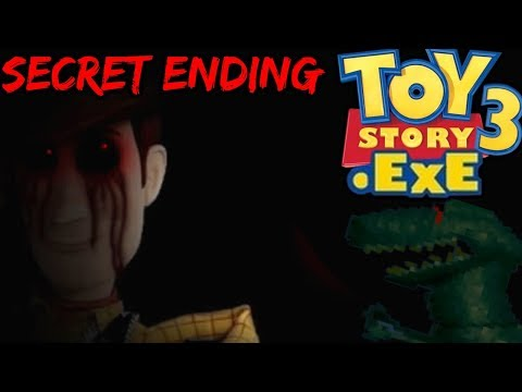TOY STORY 3.EXE - SECRET BOSS AND SECRET ENDING - REX BOSS BATTLE [Toy Story Horror Game]