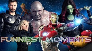 Video FUNNIEST MOMENT IN EVERY MARVEL MOVIE [WITH INFINITY WAR] MP3, 3GP, MP4, WEBM, AVI, FLV Maret 2019