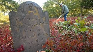 Honoring those long gone by attending to Montville's abandoned cemeteries
