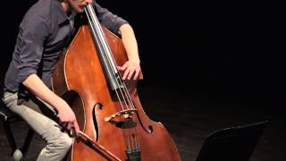 Download Lagu Stefano Scodanibbio - Geografia Amorosa - Giacomo Piermatti double bass Mp3