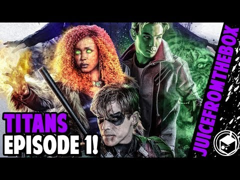 TITANS Season 1x01 Good or Bad? REVIEW