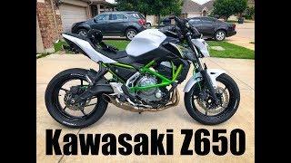 5. 2017 Kawasaki Z650 with Akrapovic exhaust and power commander 5