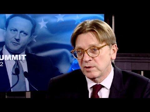 Φέρχοφσταντ: «Να δώσουμε ειδικό καθεστώς στη Βρετανία»
