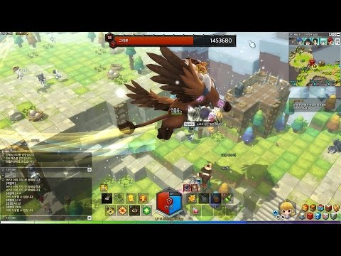 MapleStory 2 Online Alpha Adventures Part 3 World Bosses
