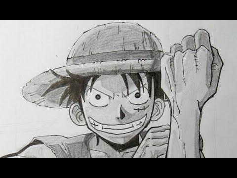 Wie zeichnet man Ruffy oder Luffy aus One Piece – Online Zeichnen Lernen