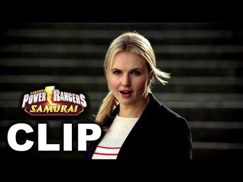 Power Rangers Samurai - Lauren/Female Red Ranger First Scene ('Fight Fire With Fire' Episode)