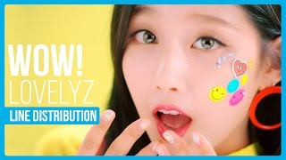 What is the line distribution like for Lovelyz WoW! ?Twitter : twitter.com/hexa6onkpopInstagram : instagram.com/hexa6onkpopLIKE the video if you enjoyedCOMMENT for any video suggestions or requests~SUBSCRIBE for more content just like this ^^Songs Used:Lovelyz - WoW!