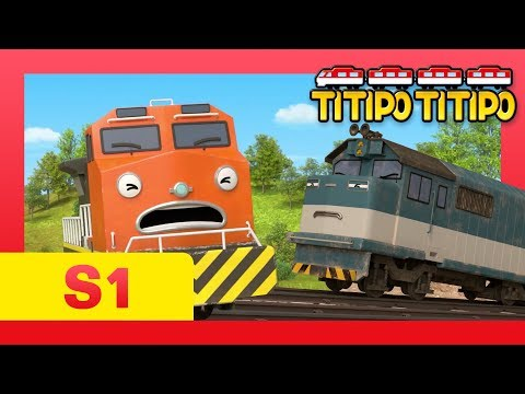 TITIPO S1 EP10 l What is Berny's hidden talent?! l Trains for kids l TITIPO TITIPO