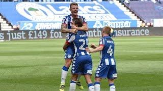 HIGHLIGHTS: Wigan Athletic 3 Blackburn Rovers 0 - 13/08/2016