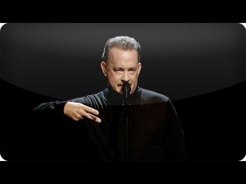 Watch Tom Hanks Deliver Beatnik Style Poetry About Full