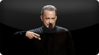 Tom Hanks Performs Slam Poem About