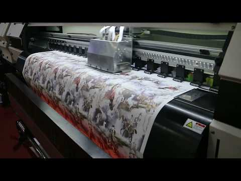 ORIC 1.8m Sublimation Printer With Dual 5113 Head