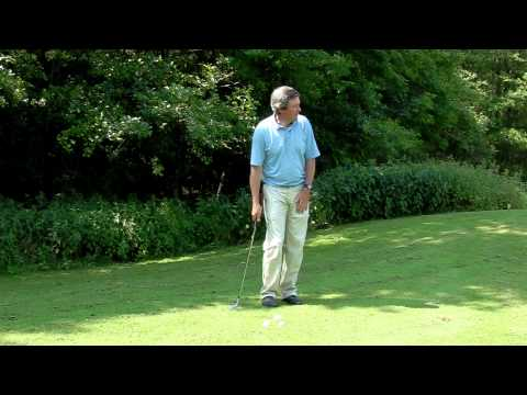 How to hit a Pitch and run golf shot video. Free online lessons, internet golf school.