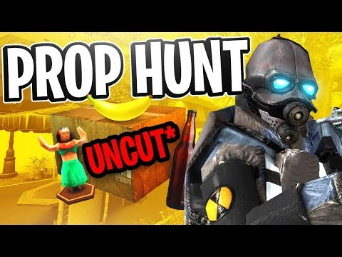 Garrys Mod - Garry's Mod Prop Hunt w/ Friendos #10 - Great Success