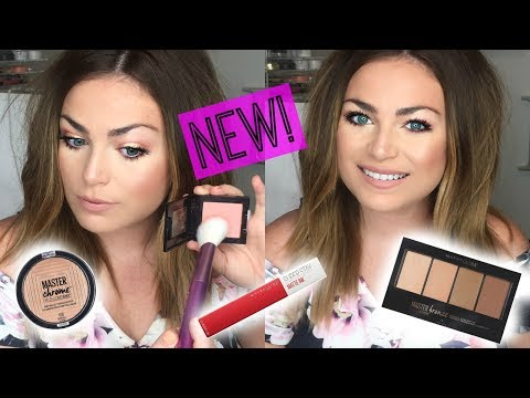 Make up - NEW DRUGSTORE MAKEUP FIRST IMPRESSIONS! Maybelline Summer Launches