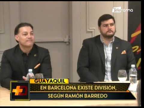 En Barcelona existe división, según Ramón Barrero