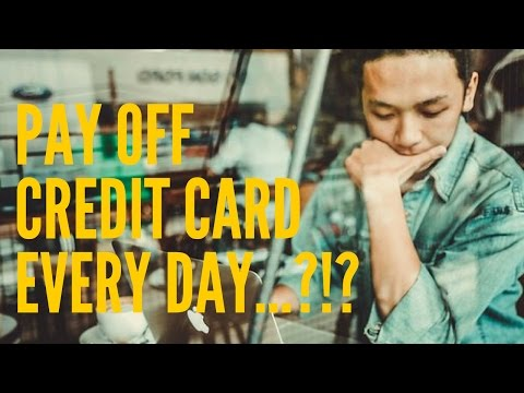 Should you pay off your credit card EVERY SINGLE DAY?!