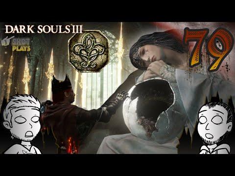 1ShotPlays - Dark Souls III (Part 79) - Spear of the Church (Blind) видео