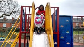 Hey guys, watch this cute little girl playing with her pram and baby doll in the park compilation. Please support these little girls by subscribing to their channel and giving a huge thumbs up. ThanksIf you are a Youtuber and would like to collaborate with our channel, please comment below. ThanksCheck our Awesome Videos:https://www.youtube.com/watch?v=IVZHE6ZlfDc&list=PLzahQAalW-PgGFBK2ej2w-elb6BEC6ly4 Our Fun Ride On Videos:https://www.youtube.com/watch?v=bpDZzDdRdAo&list=PLzahQAalW-PgDVj590PlF9K06iw6ZTlv3Superhero & Princess Action Videos:https://www.youtube.com/watch?v=jDLAhz8BQUY&list=PLzahQAalW-Pg47AHlXl1Tf1z5T9oYbSXoShopping & Days Out:https://www.youtube.com/watch?v=22fCmnnULNw&list=PLzahQAalW-PiyVi7AHw7-LDJGIKxc1zGN Hitman by Kevin MacLeod is licensed under a Creative Commons Attribution license (https://creativecommons.org/licenses/by/4.0/)Source: http://incompetech.com/music/royalty-free/index.html?isrc=USUAN1300013Artist: http://incompetech.com/