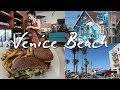 wandering around venice beach, california // café gratitude & living libations