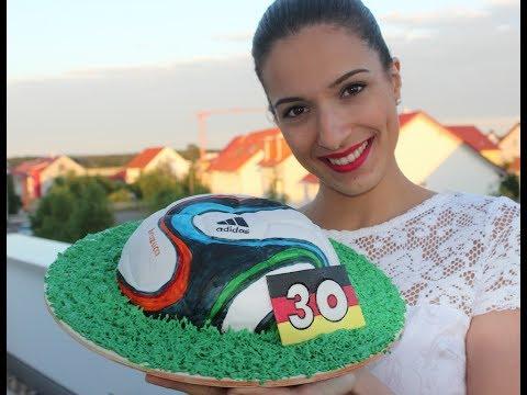 WM-Special: Fußball-Kuchen / Brazuca / Geburtstagskuchen